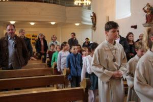 2019 – HGU Eröffnung, Vorstellung der Erstkommunionkinder