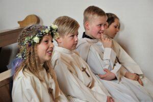 Erstkommunion in Schneisingen / Siglistorf, 11. April 21