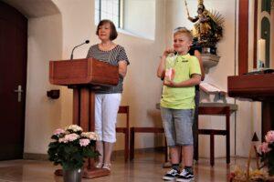 Schulend-Gottesdienst vom 27. Juni 2021. Verabschiedung von Yvonne Zimmermann